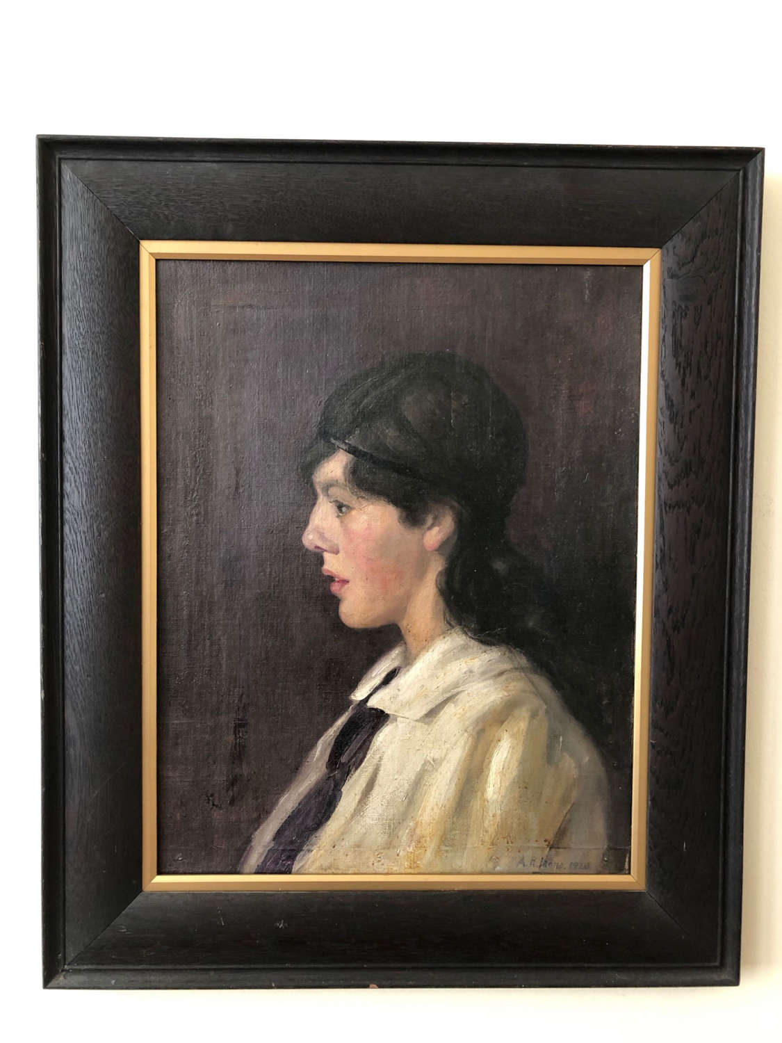 A 1920s Portrait Of A Girl