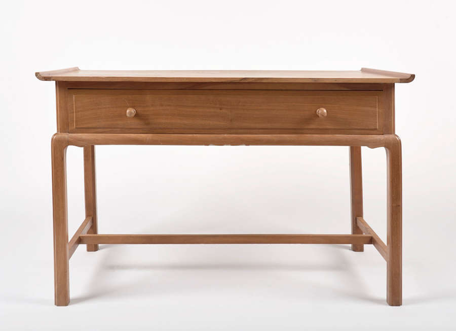 A Elegant Pale Walnut Side Table