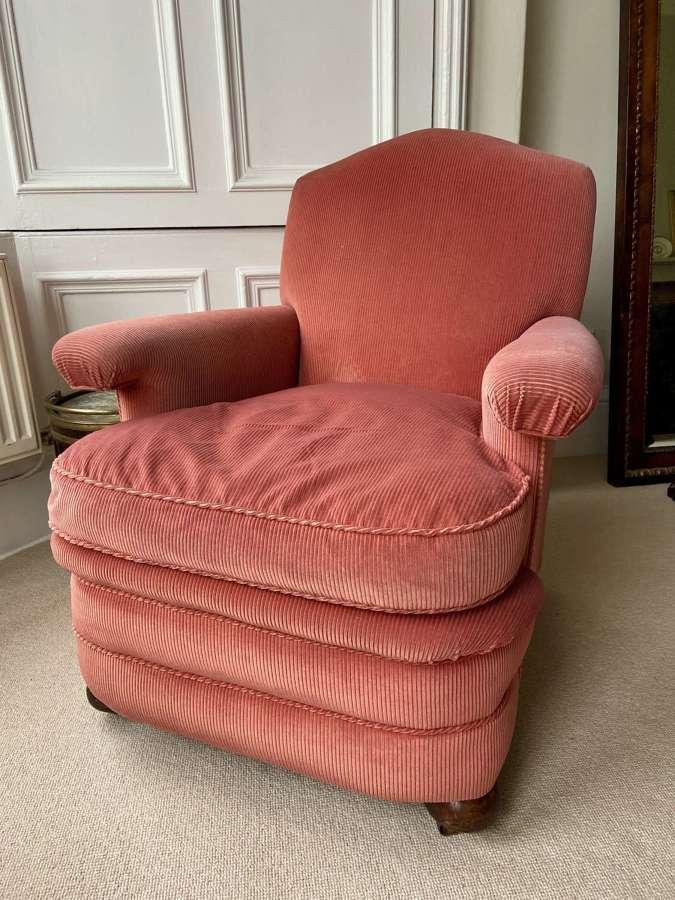 A comfortable 1930's armchair