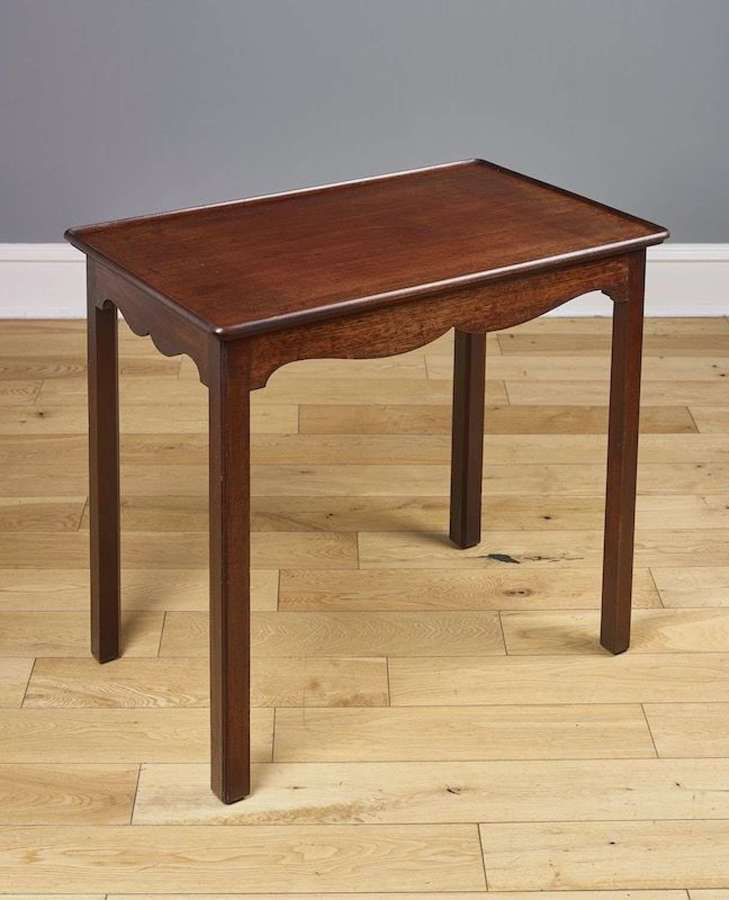 A George II walnut table