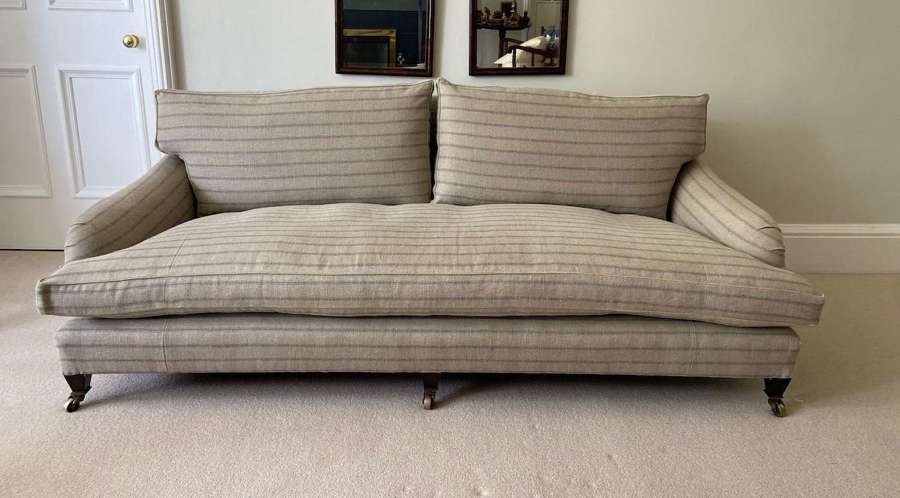 An extremely comfortable sofa